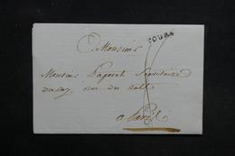 FRANCE - Lettre De Tours Pour Paris - L 31395 - 1801-1848: Precursors XIX