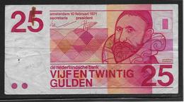 Pays Bas - 25 Gulden - Pick N°92 - TB - [2] 1815-… : Regno Dei Paesi Bassi