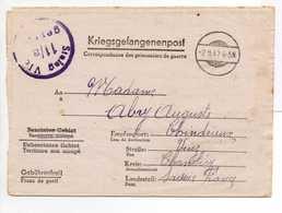 - Lettre STALAG VI C 11/a Pour CHINDRIEUX (Savoie) 18.10.1942 - A ETUDIER - - 2. Weltkrieg 1939-1945