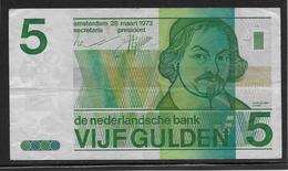 Pays Bas - 5 Gulden - Pick N°95 - TTB - [2] 1815-…: Königreich Der Niederlande
