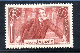 N 318 / 40 Centimes Brun /  NEUF **  /  Côte 6.5 € - France