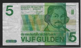Pays Bas - 5 Gulden - Pick N°95 - TB - 5 Florín Holandés (gulden)
