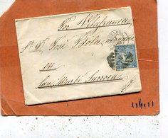 ESPAGNE Lettre De 1868 - Briefe U. Dokumente