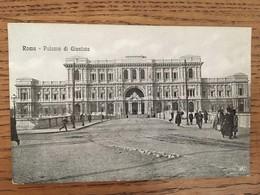 CPA, Roma, Palazzo Di Giustizia, Animée, édition VAT, Non écrite - Autres Monuments, édifices