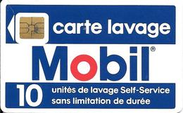 CARTE-PUCE-SO3--LAVAGE-MOBIL-10U-V°Station Mobil-Soleic 45060-Ref 121067--TBE - Frankrijk