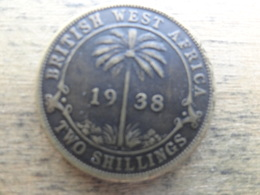 British West Africa  2  Shillings  1938 Kn  Km 24 - British Colony