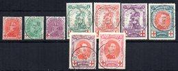 Serie Nº 126/34  Belgica - 1914-1915 Cruz Roja