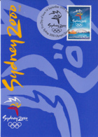Australia 1999 Maxicard Sc 1779 45c 2000 Olympic Games, Sydney - Cartes-Maximum (CM)
