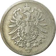 Monnaie, GERMANY - EMPIRE, Wilhelm I, Mark, 1874, Karlsruhe, TB, Argent, KM:7 - 1 Mark