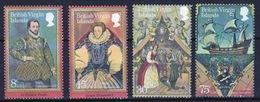 British Virgin Islands 1980 Queen Elizabeth Full Set Of Stamps Celebrating Sir Francis Drake. - British Virgin Islands