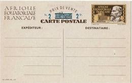 LINT4 - AEF CARTE POSTALE ACEP N°1 NEUVE - A.E.F. (1936-1958)