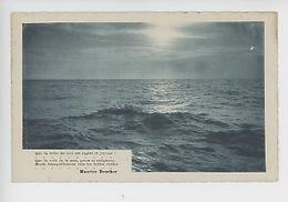 Maurice Bouchor (poésie) Que La Brise Du Ciel Est Légère Et Joyeuse, Que La Vois De La Mer... (cp Vierge Ghio éd) - Ecrivains