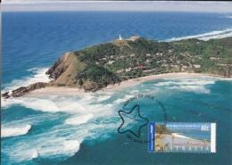 Australia 2000 Maxicard Sc 1925 80c Byron Bay, NSW - Cartes-Maximum (CM)