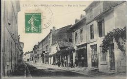 HIERSAC-Rue De La Mairie - Autres Communes