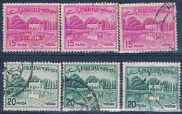 Pakistan 1962  -  Michel  103 + 183  ( Usados ) - Pakistán