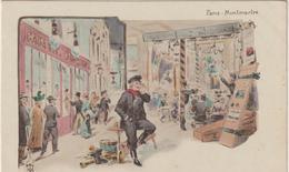 Paris : Illustrateur  :  Weilue Ou Wellue? : Montmartre, Cabaret - Altri