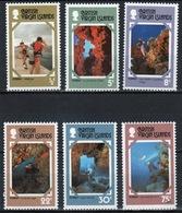 British Virgin Islands 1978 Queen Elizabeth Full Set Of Stamps Celebrating Tourism. - British Virgin Islands