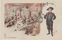Paris : Illustrateur  :  Weilue Ou Wellue? : Montmartre, Cabaret , Bruant - France