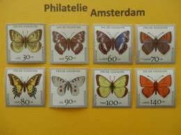 Germany 1991, FAUNA INSECTS BUTTERFLIES SCHMETTERLINGE VLINDERS PAPILLONS: Mi 1512-19, ** - Butterflies