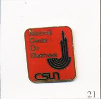 Pin's - Services Aux Sourds / NCOD (National Center On Deafness) à L'Université CSUN. T665-21 - Medici