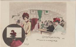 Paris : Illustrateur  :  Weilue Ou Wellue? : Montmartre, Cabaret   , Conservatoire - France