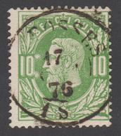 COB N° 30 - Double Cercle - FOSSES - 1883 Léopold II