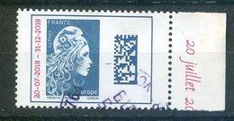 FRANCE 2018 Marianne L'Engagée Surchargée 20/72018 31/12/2018   Oblit / Used - 2018-... Marianne L'Engagée