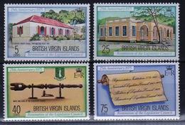 British Virgin Islands 1975 Queen Elizabeth Full Set Of Stamps Celebrating Legislative Council - British Virgin Islands