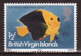 British Virgin Islands 1975 Queen Elizabeth Single Stamp From The 1975 Definitive Fish Set. - British Virgin Islands