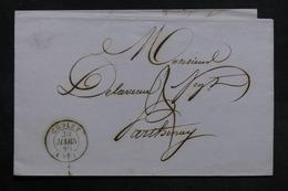 FRANCE - Lettre De Cholet Pour Parthenay En 1846  - L 31410 - 1801-1848: Precursors XIX