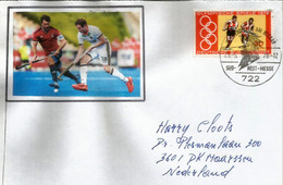 Germany Field Hockey, Letter Sent Netherlands  (NL) - Hockey (su Erba)