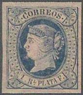ESPAÑA/ANTILLAS 1864 - Edifil #11 - MNH ** - 1850-68 Kingdom: Isabella II