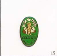 Pin's - Sport - Rugby / Ecole De L'ASPTT De Nantes (44). Non Estampillé. Epoxy. T665-15 - Postes