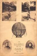 """MOTO- Le GLOBE DE LA MORT Par Les """"ROLING"""" Figures Acrobatiques Sur Moto . - Deportes"""