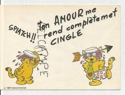 """Garfield:"""" Ton Amour Me Rend Complètement Cinglé"""" - Bandes Dessinées"""