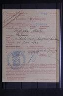FRANCE - Certificat De La Mairie De Quimper De Domicile En 1942 - L 31414 - Collections