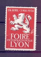 CINDERELLA  ERINOFILO International Exposition FOIRE LYON  19354  (GIUGN1900B106) - Erinnofilia