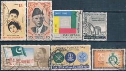 Pakistan 1966 -  Michel  224 / 29 + 232  ( Usados ) - Pakistán