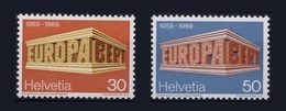 Suisse Switzerland Europa 1969 ** - Europa-CEPT