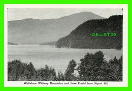 LAKE PLACID, NY - MINI-POSTCARD - WHITE WHITNEY MOUNTAINS & LAKE PLACID FROM SIGNAL HILL - - NY - New York