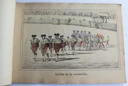Rare Livret 20 Gravure Ancienne 19ème Corrida De Toros Sevilla Librería De D. José Guillermo Fernandez Genova Carrasco - Estampas & Grabados