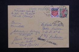 """ANDORRE - Griffe """" Radio Andorra """" Sur Entier Postal De France En 1965 - L 31418 - Cartas"""
