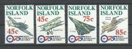 NORFOLK  YVERT  597/600   MNH  ** - Isla Norfolk
