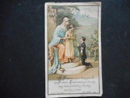 IMAGE COMMUNION 1931-à CIERZAC -  Bouasse Jeune - Religión & Esoterismo