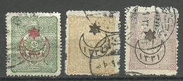 Turkey; 1915 Overprinted War Issue Stamps (Complete Set) - 1858-1921 Empire Ottoman