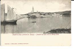 Croatia Rab/Arbe 1910 Sailing Ship Town Of Rab - Croatia