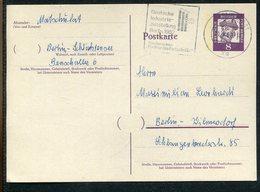 """Berlin / 1962 / Postkarte Im Ortsverkehr, Masch.-Stempel Berlin """"Industrieausstellung"""" (17248) - [5] Berlin"""