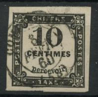 France (1859) Taxe N 2 (o) - Postage Due