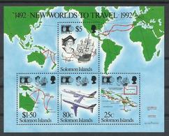 SALOMON    YVERT   748/51    MNH  ** - Islas Salomón (1978-...)