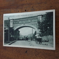 Cartolina Postale Avellino 1925, Acquedotto Del Serino - Avellino